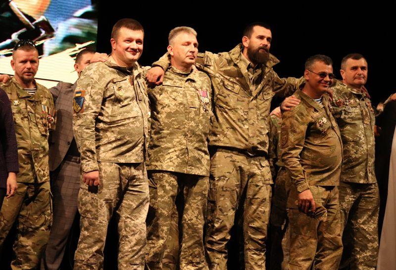 На Тернопільщині вшанували добровольців