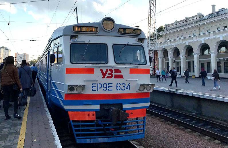 Модернізована електричка вийшла на маршрут Одеської області