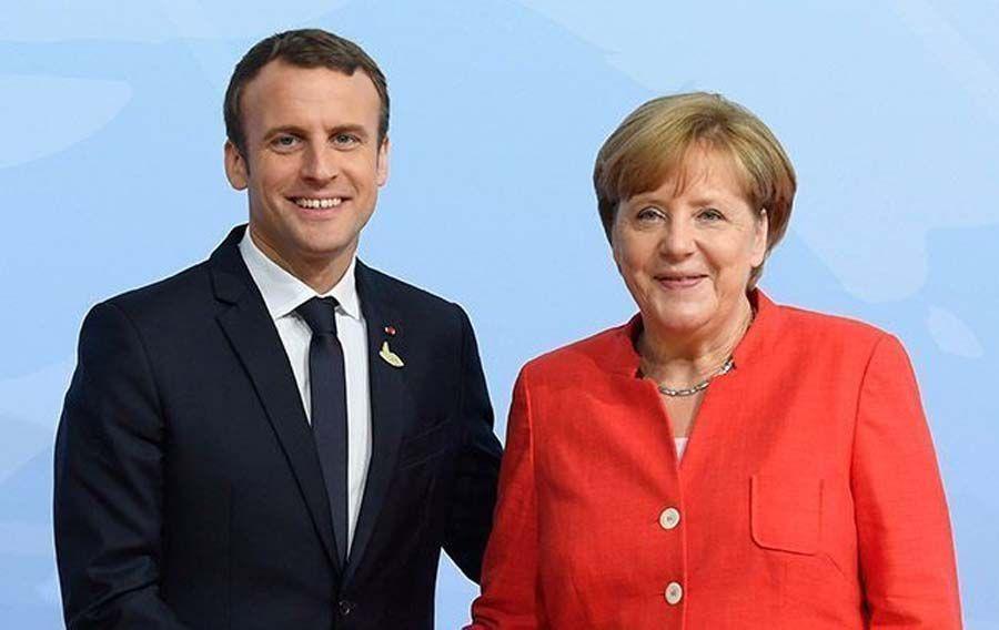Меркель та Макрон вітають  позитивні зрушення  в імплементації Мінських угод