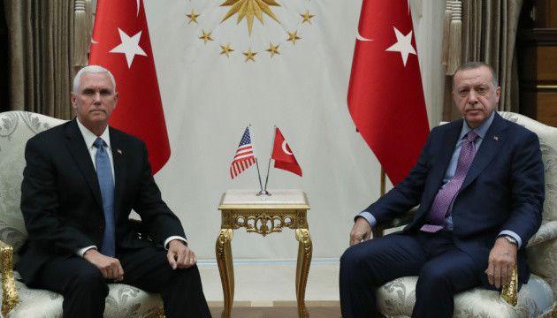 Туреччина призупиняє  операцію в Сирії