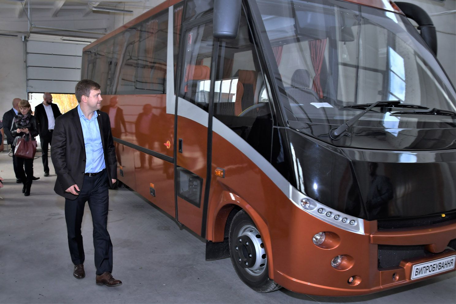 Первый ривненский автобус «Іква» проходит сертификацию