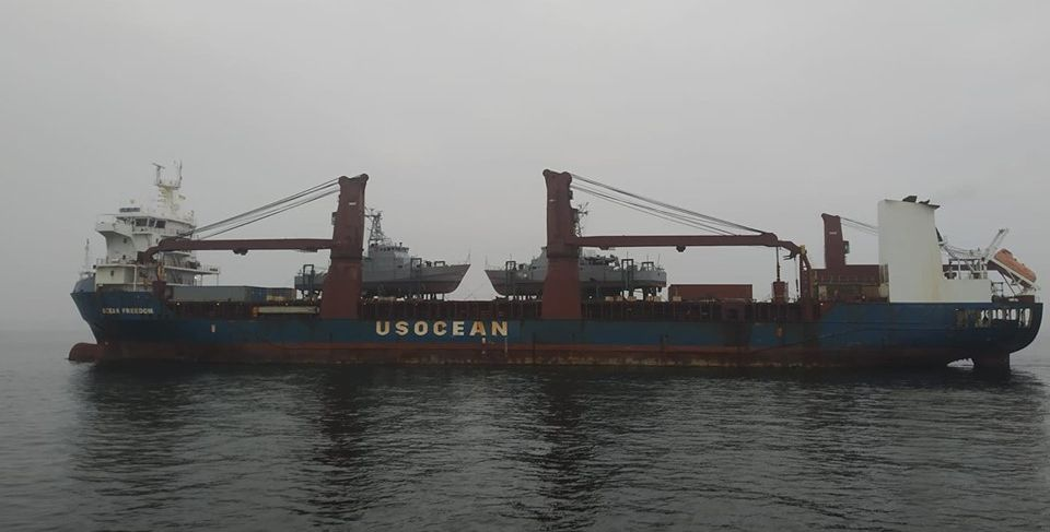 Патрульні катери зі США прибули до постійного місця служби в Одесу