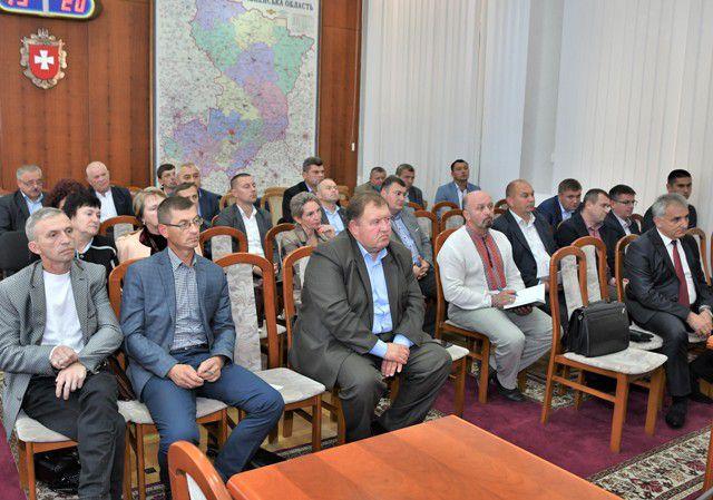 Керівники ОТГ Рівненщини озвучили проблемні питання