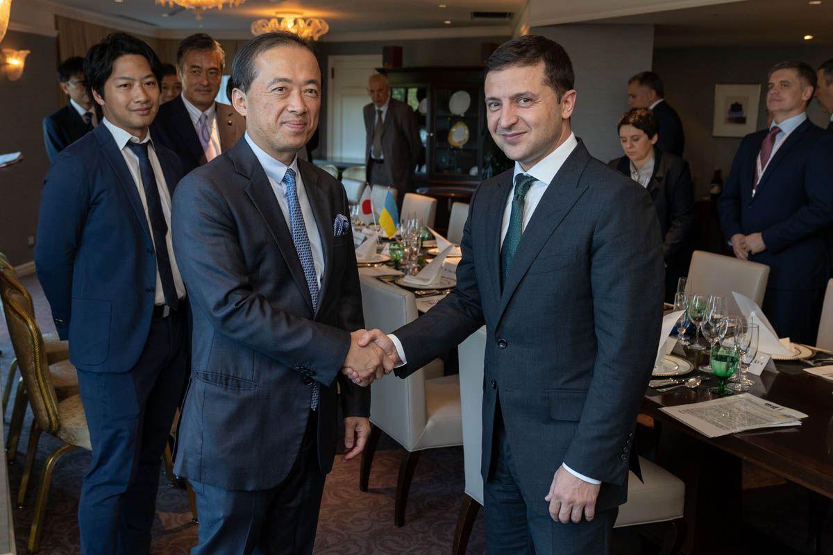 Президент подякував Японії за підтримку