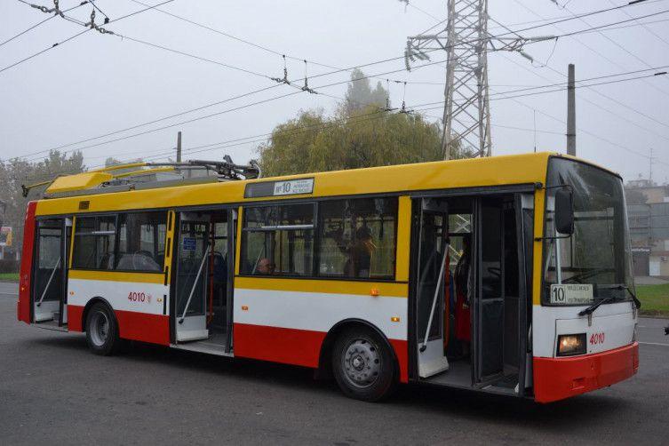 В Одесі електробус вийшов на маршрут