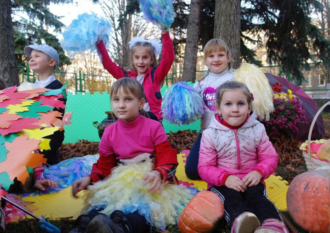 В прифронтовом поселке Мироновский вместе отметили День окружающей среды