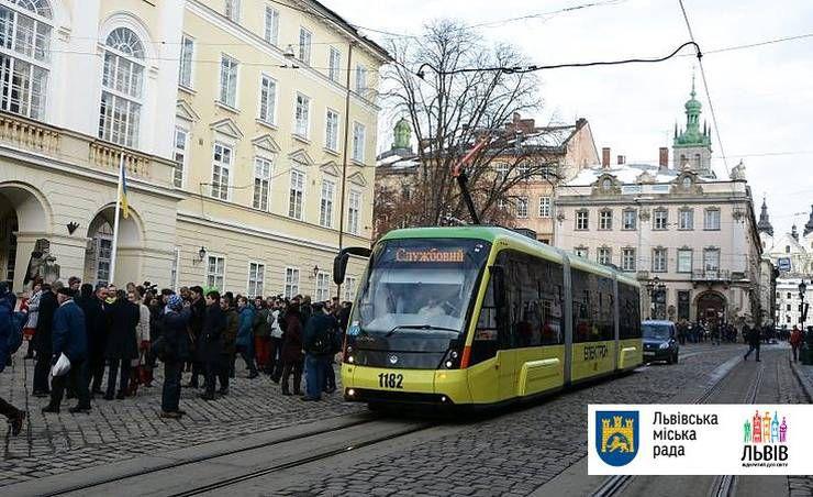У Львові роблять ставку на електротранспорт
