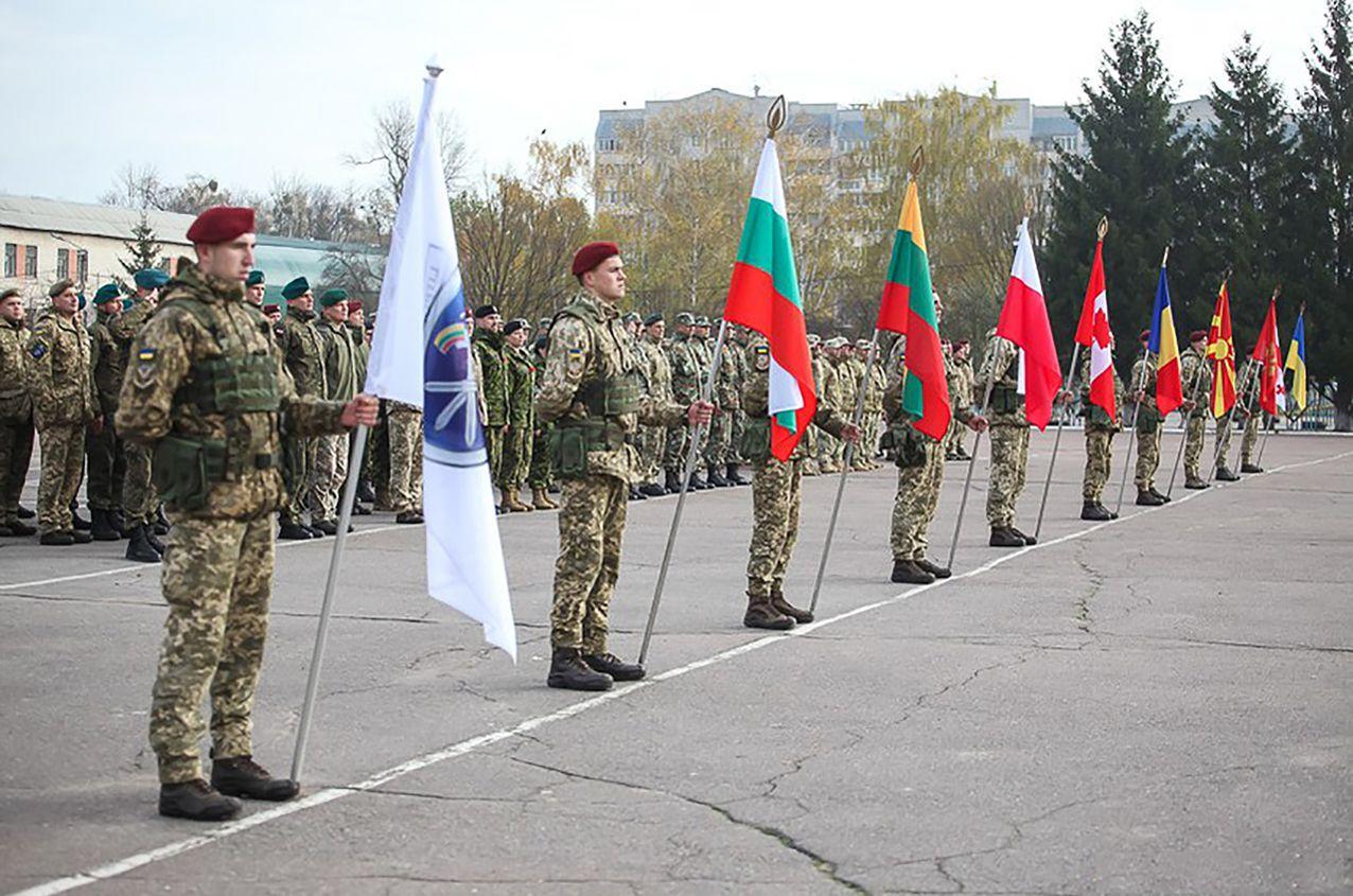 Військові навчання у столиці вітчизняного десанту