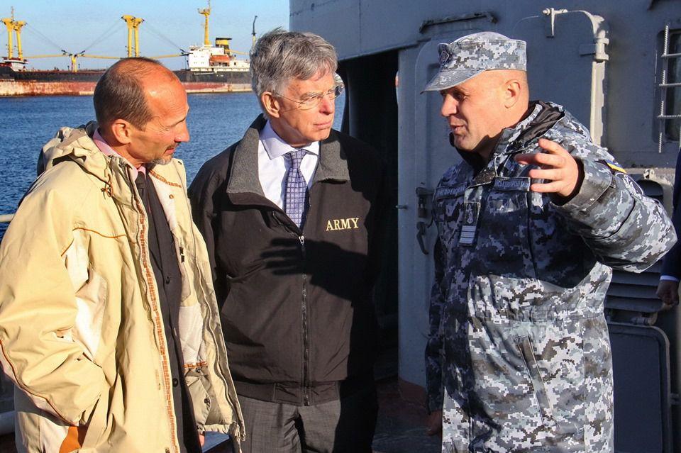 Ознайомили з безпековою  ситуацією в Азовському морі