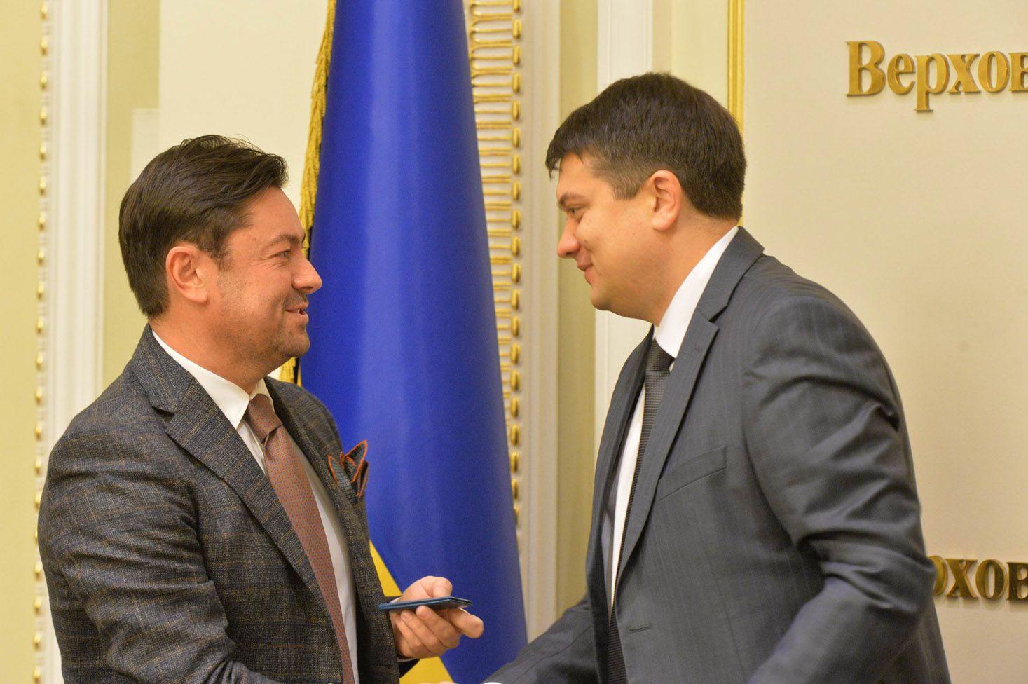 В'ячеслава Штучний - керівник апарату Верховної Ради України