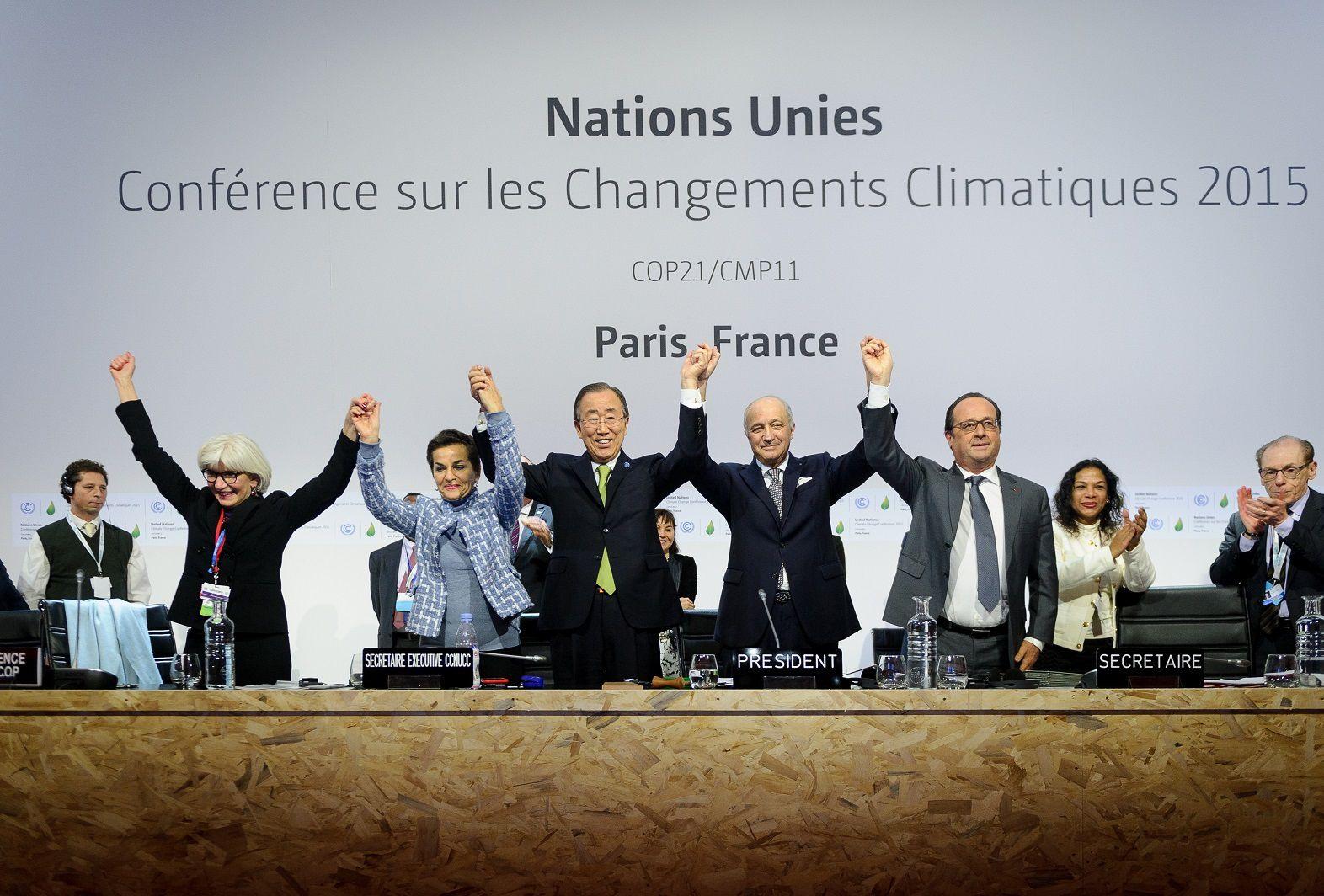 США начали выход  из климатического  соглашения