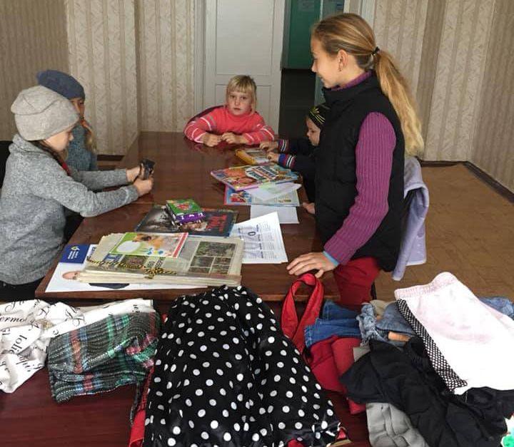 Молодежь села Байдовки приглашает в... шкаф