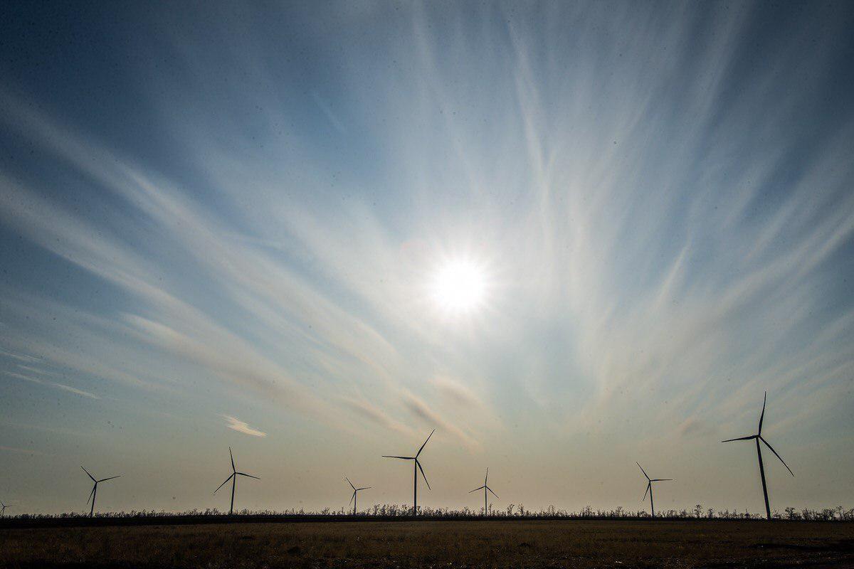 У Запорізькій області постав вітропарк