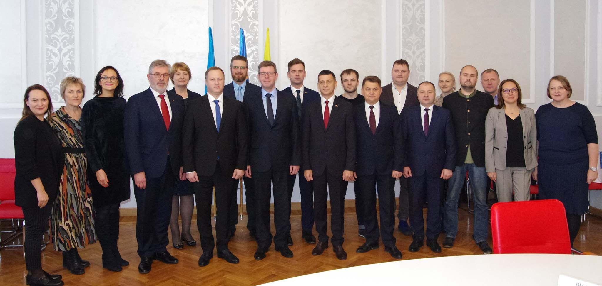 Литовські та тернопільські бізнесмени розробляли спільні ідеї