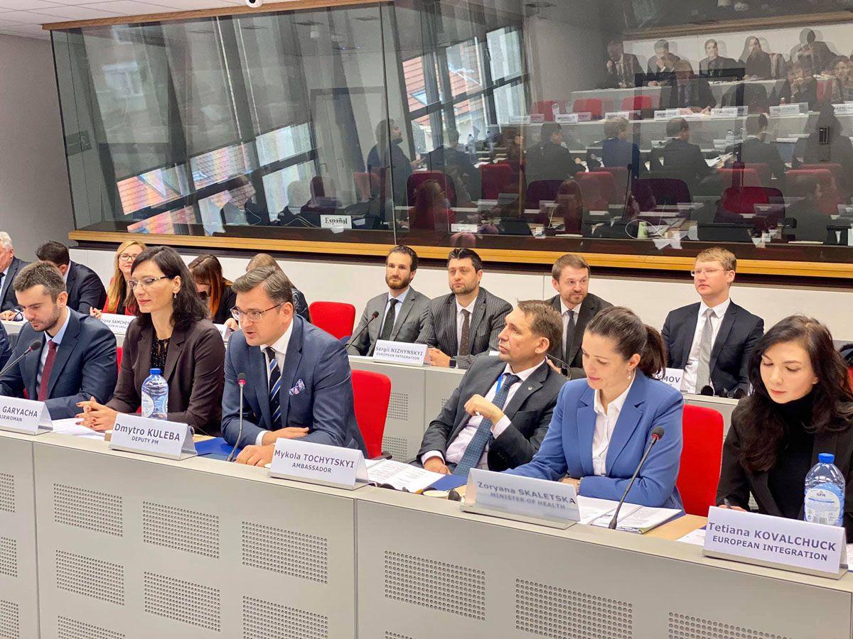 У Брюсселі обговорили пріоритети нашої інтеграції до ЄС