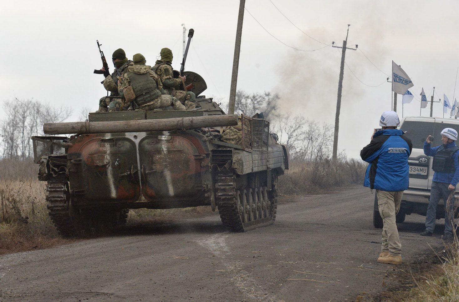 На участке Богдановка — Петровское разведены силы и средства