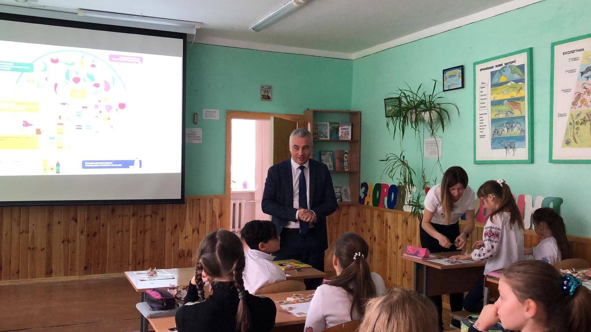 Цель — сохранение здоровья школьников Тернополя