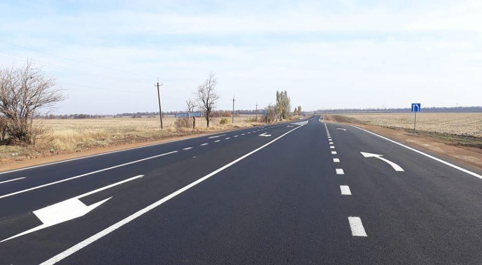 Ремонт дороги Благодатне — Валер'янівка завершать до кінця року