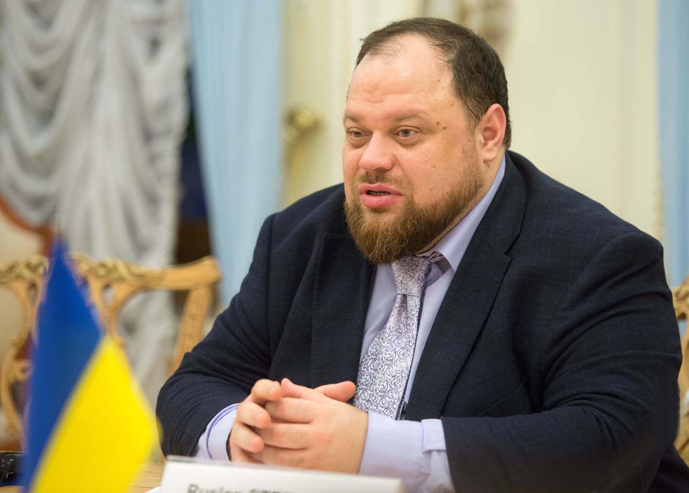 Руслан Стефанчук встретился с Мирьяной Сполярич Эггер