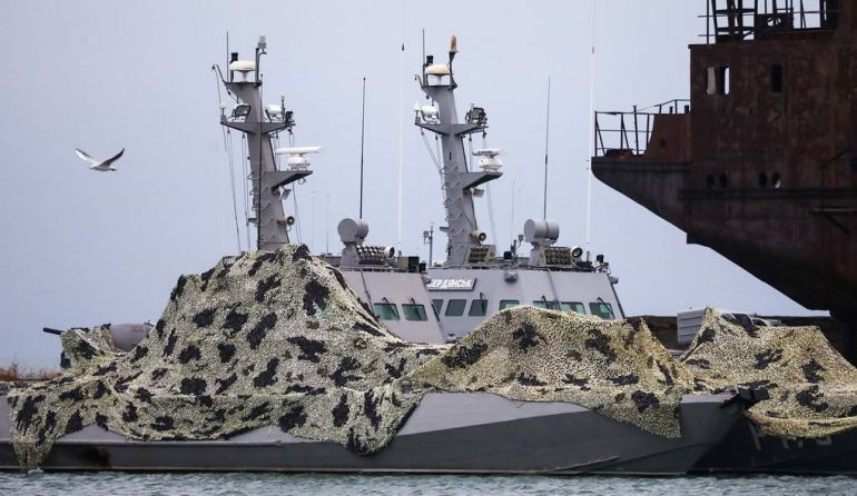 Rusia devolvió a Ucrania los buques capturados
