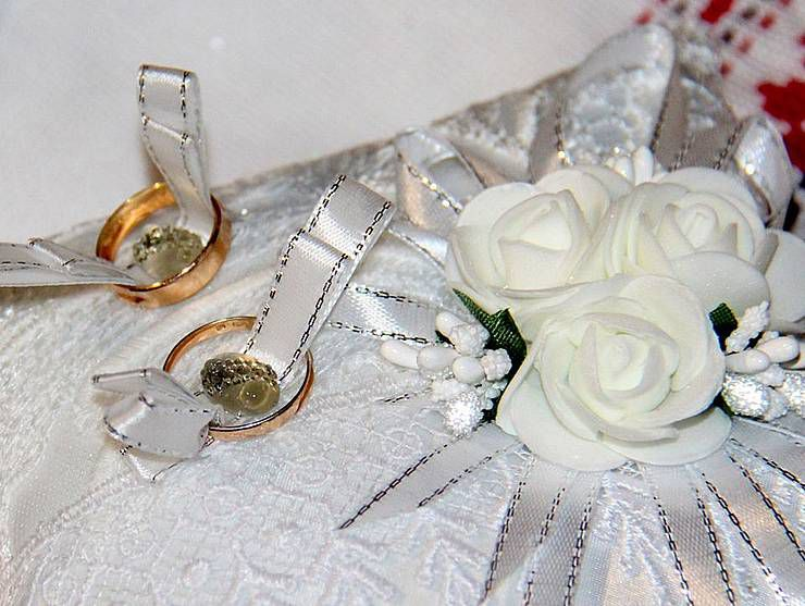 Венчание на передовой: без банкета, но с любовью
