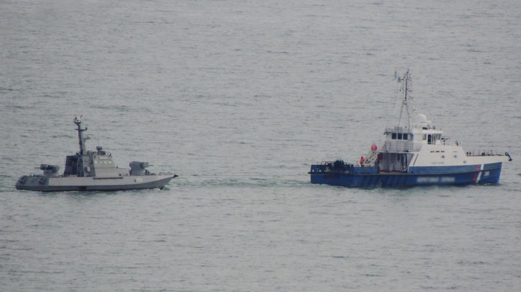 Russland gekaperte Schiffe an die Ukraine zurückgegeben