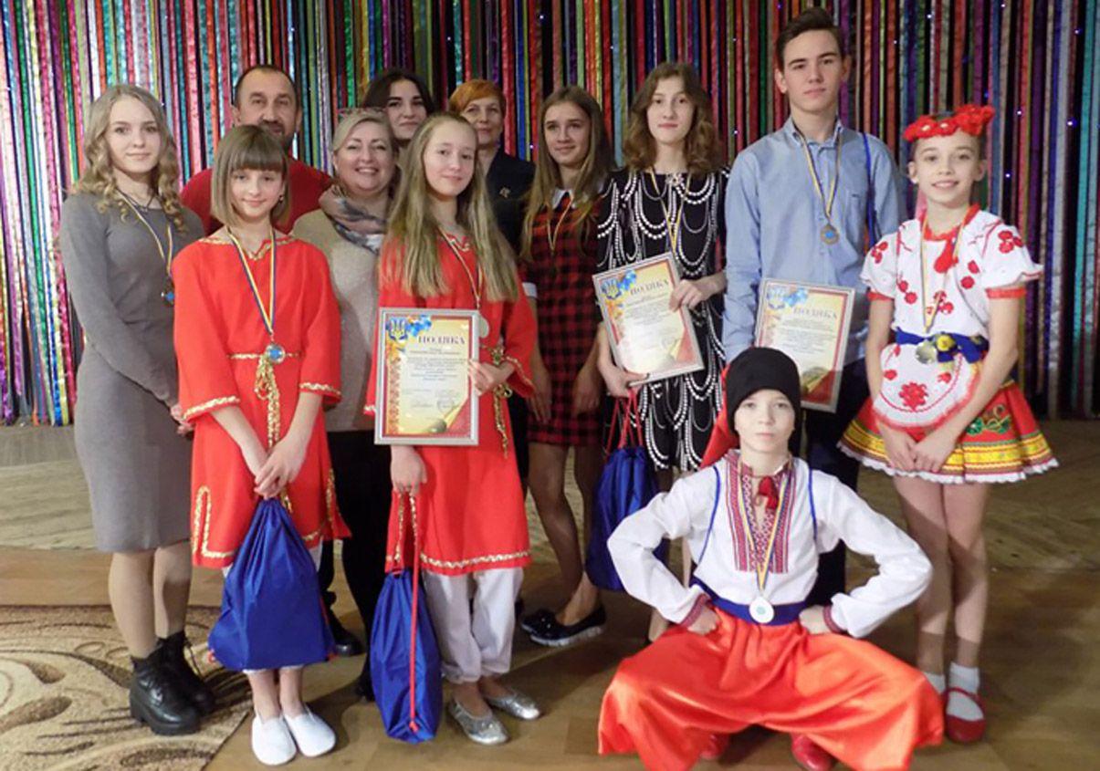 В Бердичеве маленькие «звездочки» на сцене фестиваля