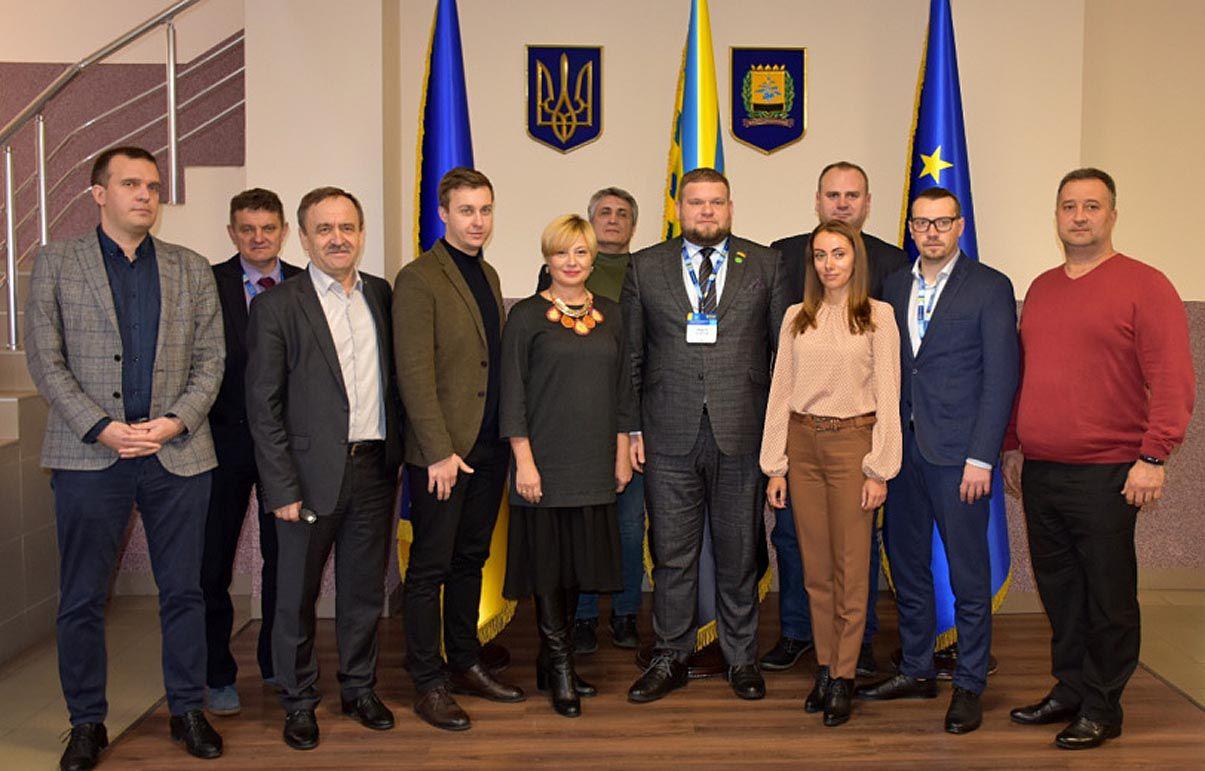Обговорили зміни в адміністративно-територіальному устрої Донеччини