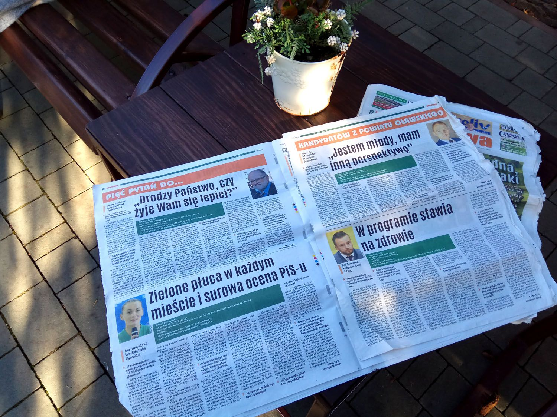 Газеты не исчезают! Их читают везде, но не в Украине