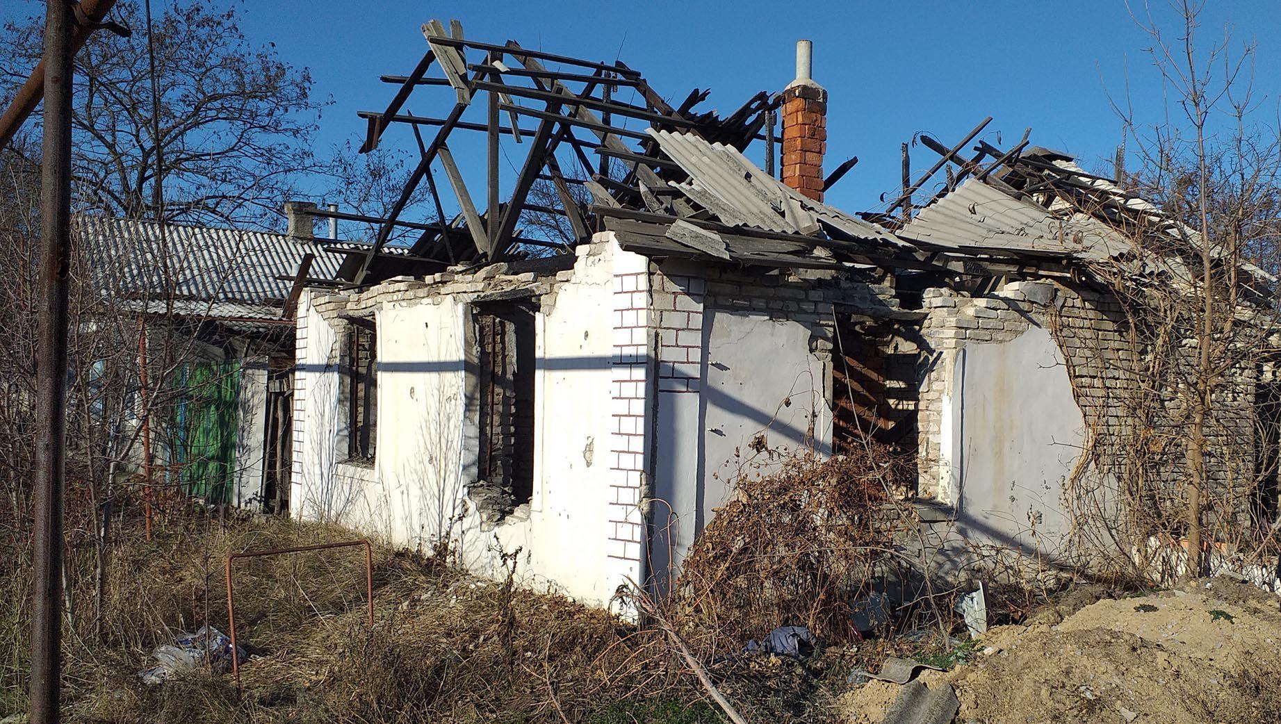 Кримське: на лінії розмежування