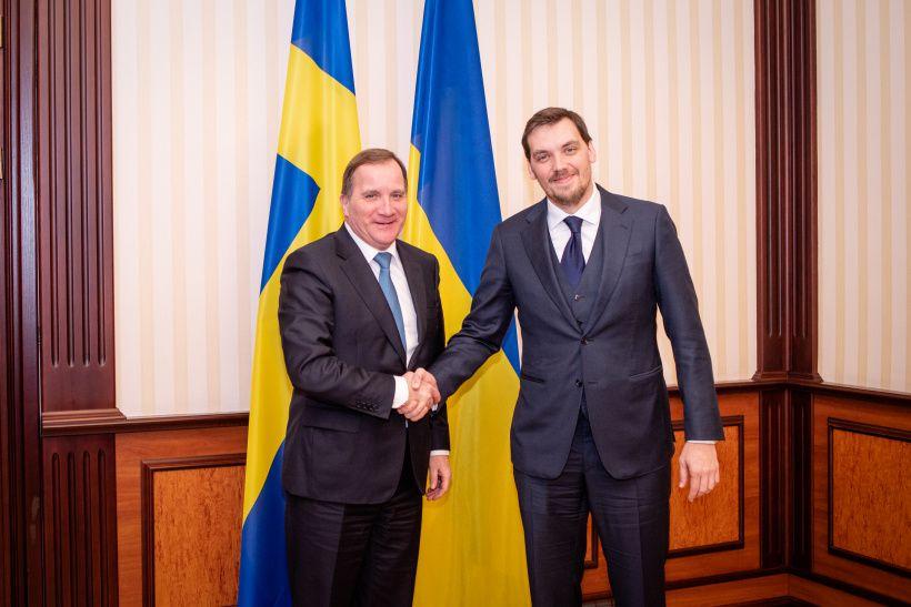 Обсудили со шведским премьером «промышленный безвиз»