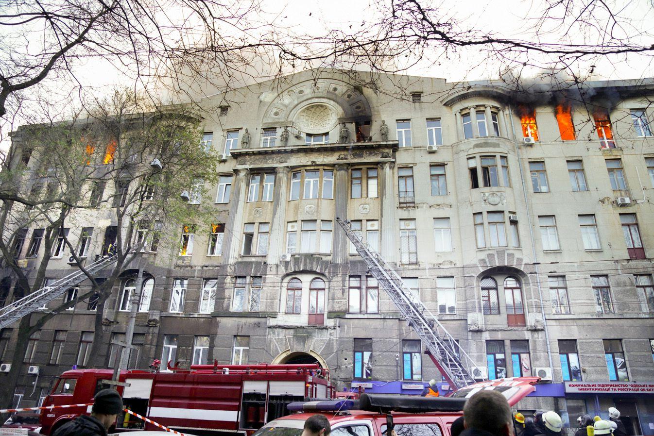 Жуткая трагедия в историческом центре Одессы