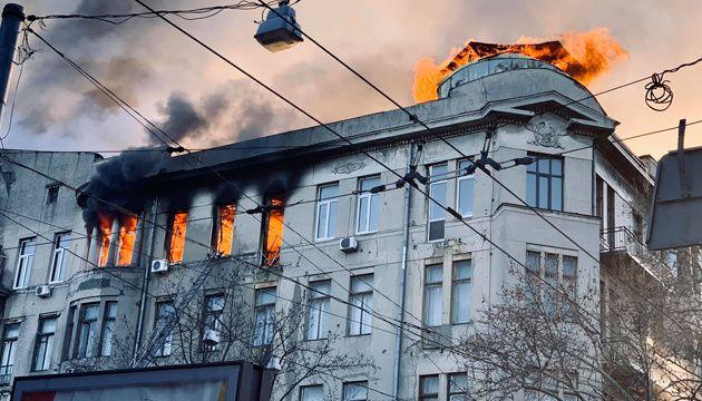 Пожежа в одеському коледжі: список загиблих зростає