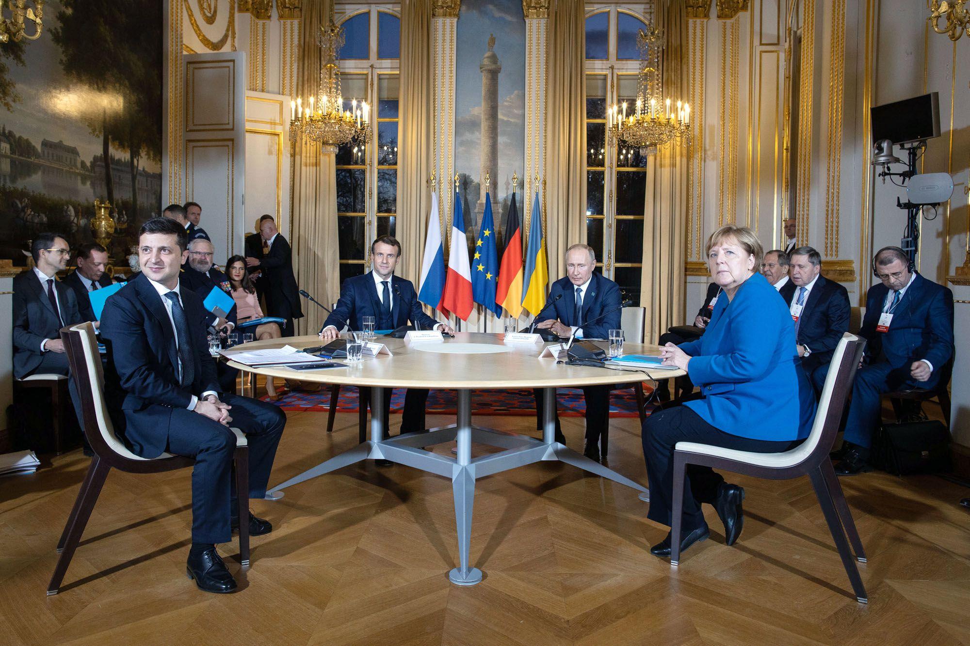 Самые сложные вопросы «нормандского саммита» — выборы и граница