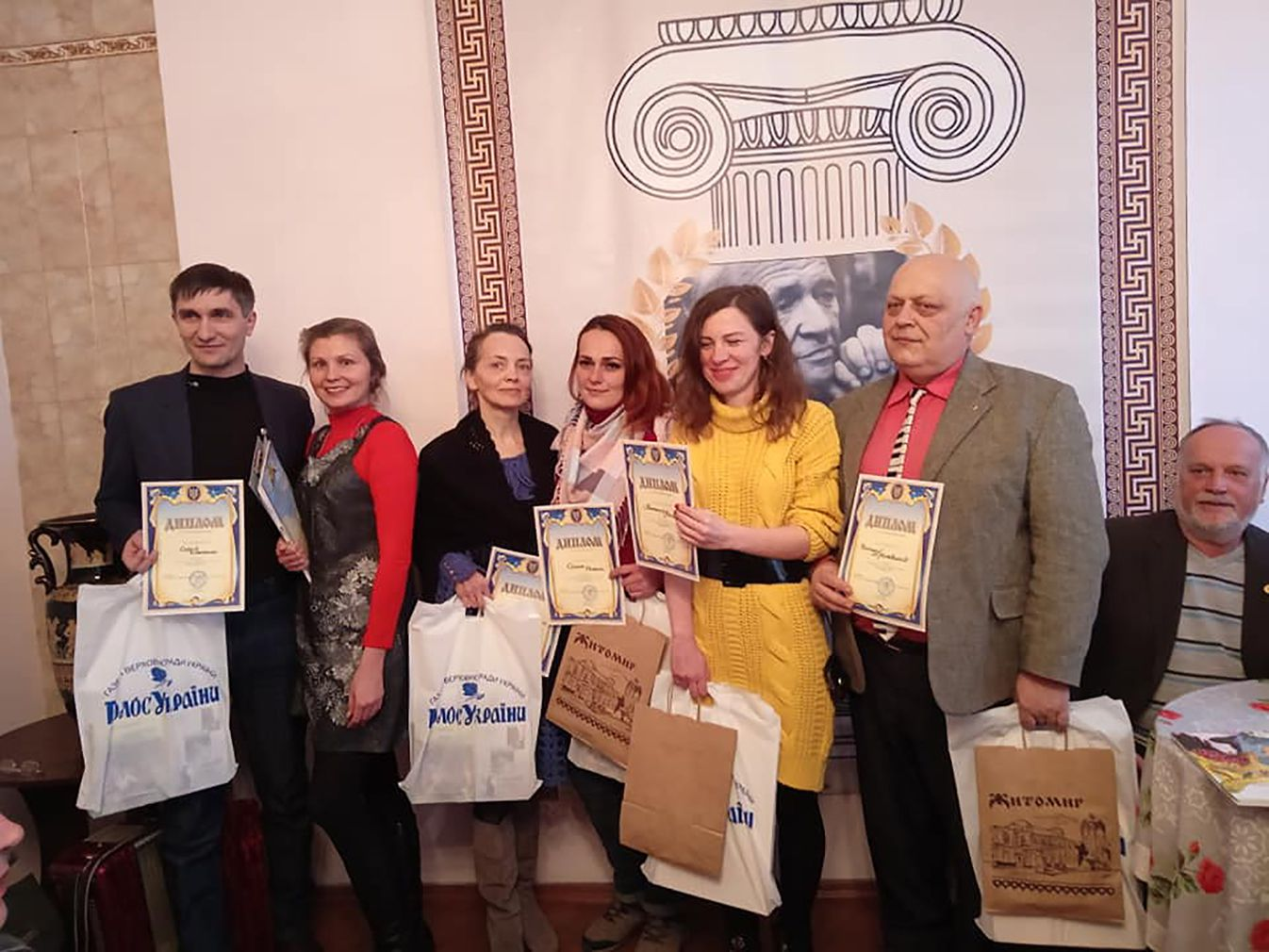 В Житомире «Голос Украины» наградил поэтов