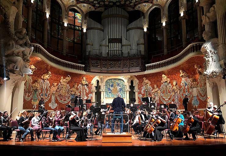 Оркестр «Філармонія» почують в Іспанії та Португалії