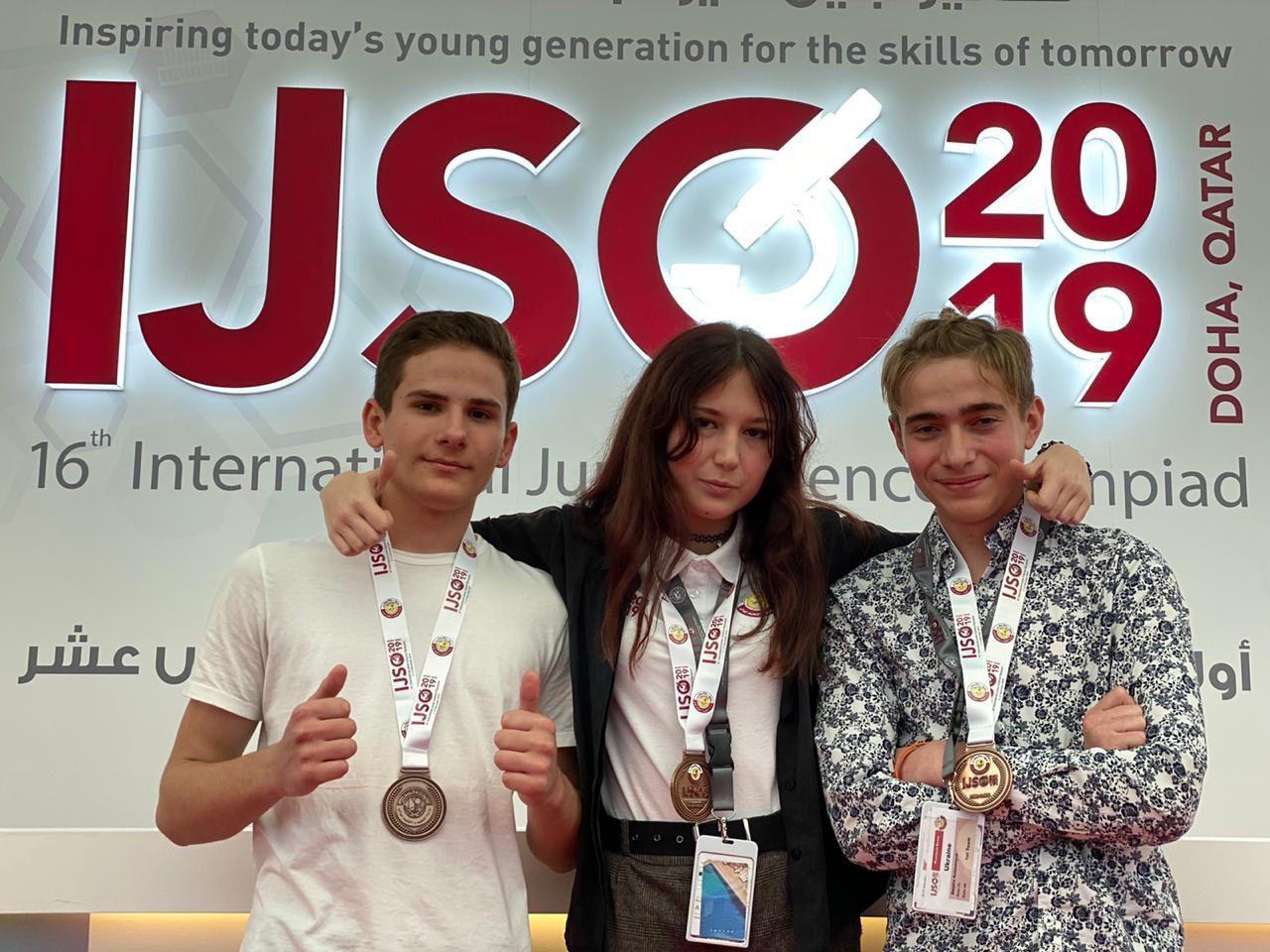 Олімпіада IJSO: Наші знову в переможцях!