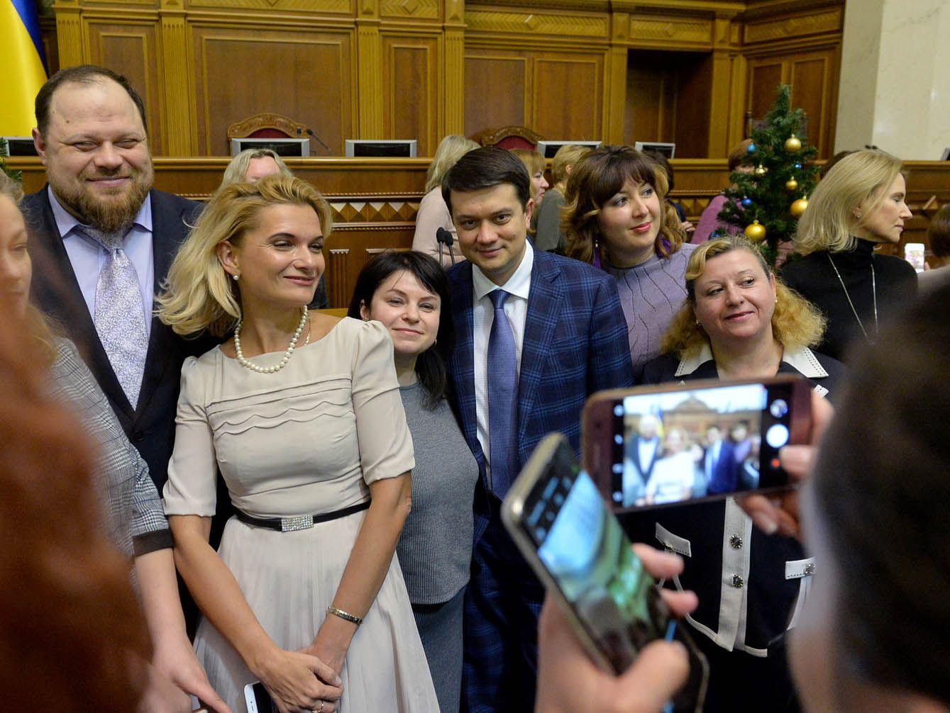 Привітання з Новорічними святами колектив апарату Верховної Ради