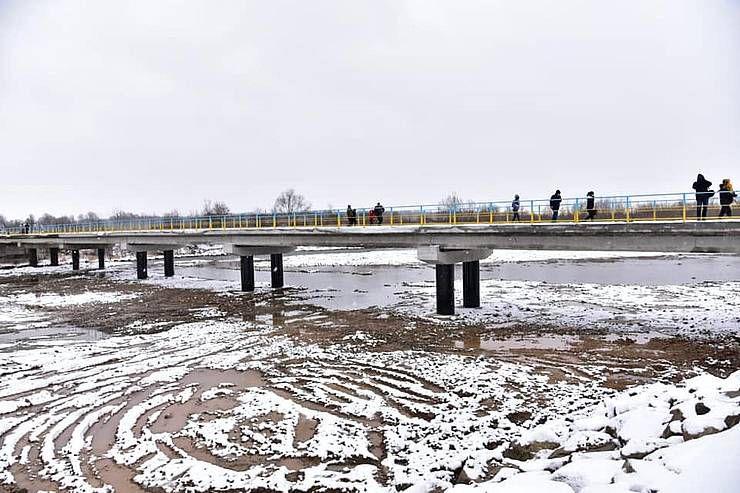 У Калуському районі зруйнований повінню міст відновлено за чотири місяці