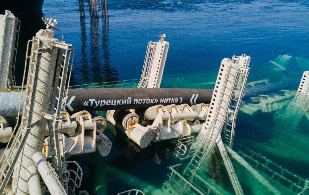 Газопровід «Турецький потік» введено в експлуатацію