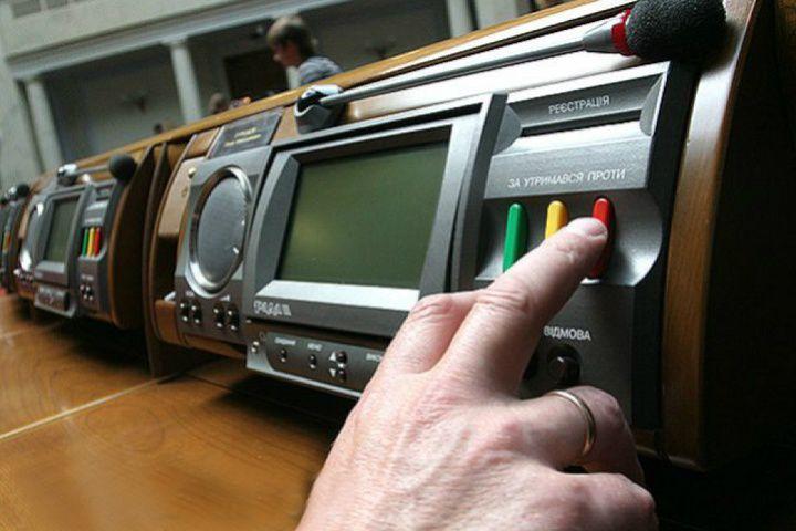 Про внесення змін до деяких законодавчих актів України щодо забезпечення особистого голосування народними депутатами України на пленарних засіданнях Верховної Ради України