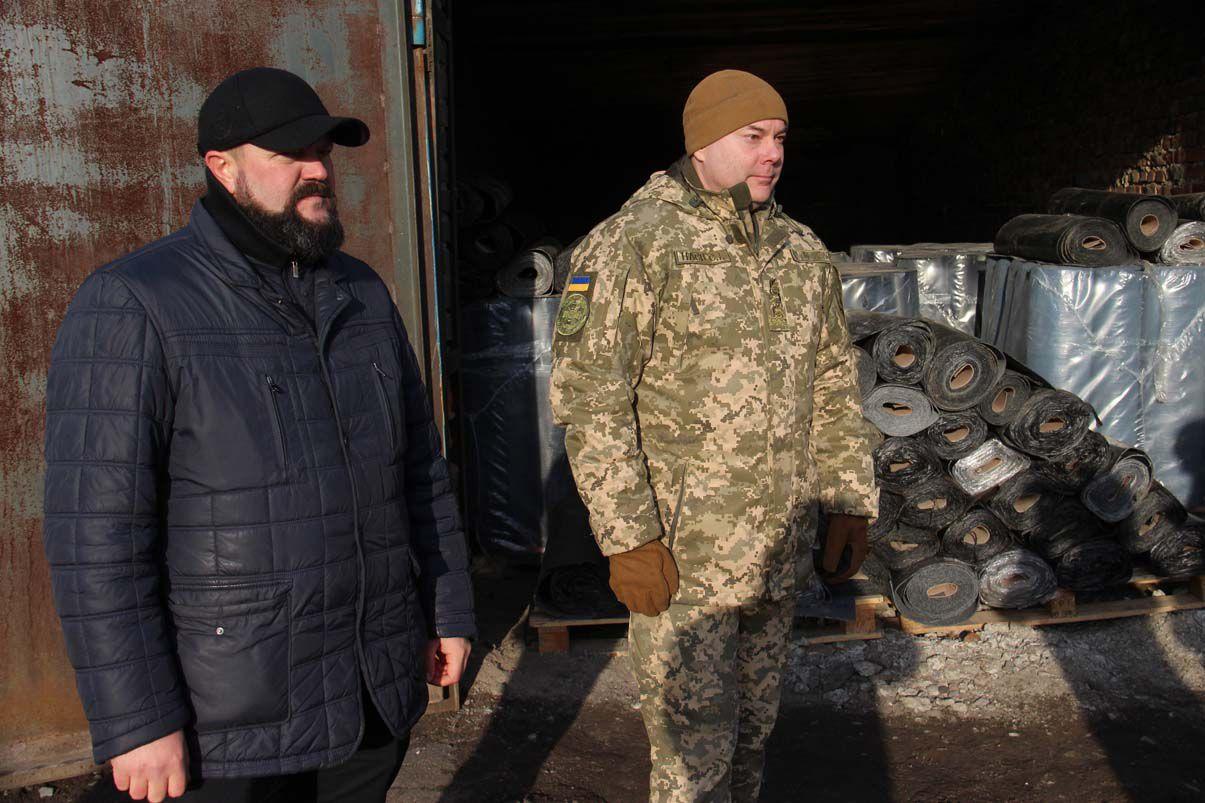 Сергій Наєв: «Українські військові мають незламну волю та добре серце»