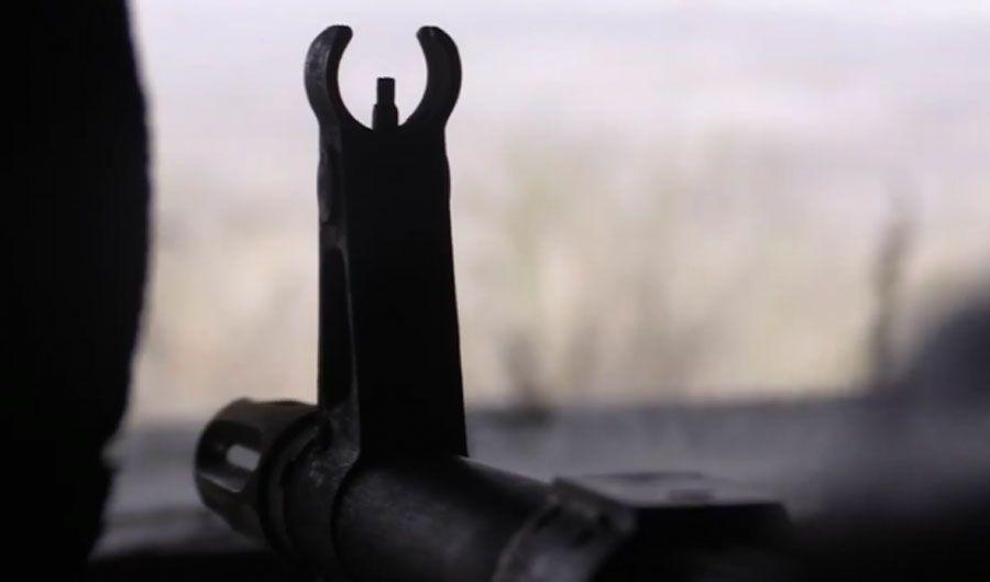 Противник ведет огонь  из крупнокалиберного оружия