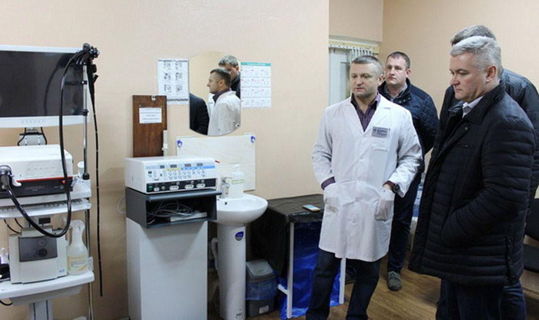 Нежинскую больницу поддержал местный бюджет