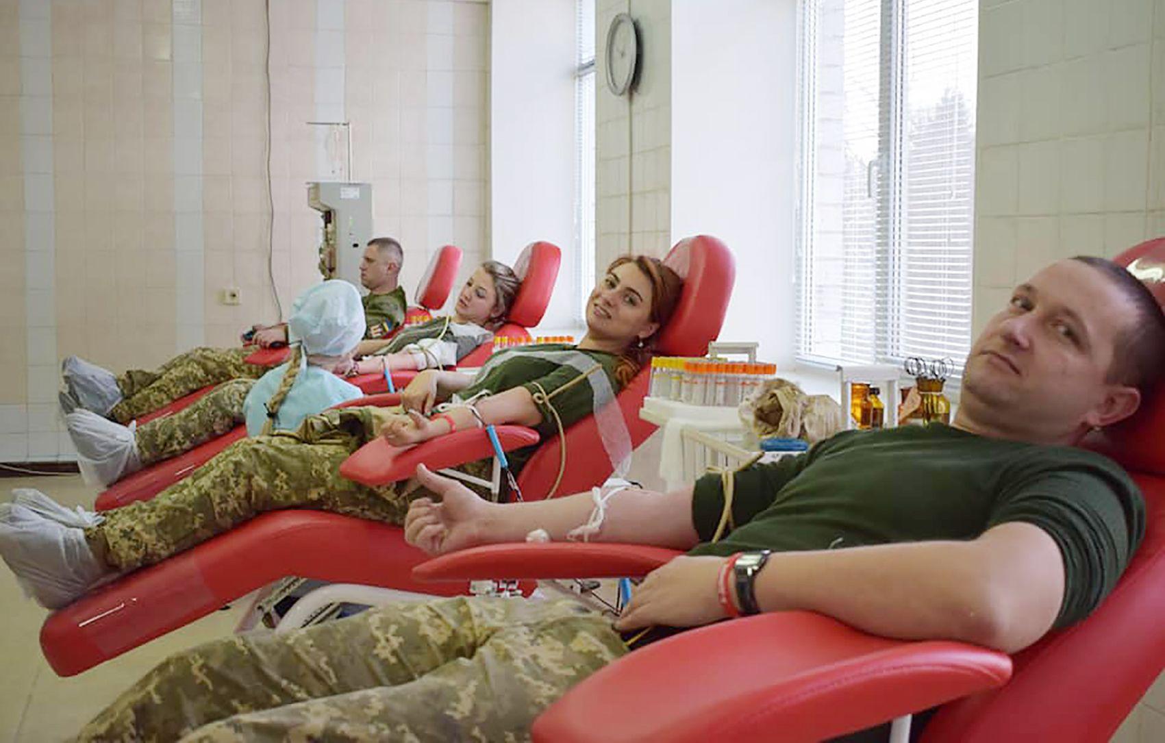 Здай кров — врятуй чуже життя!