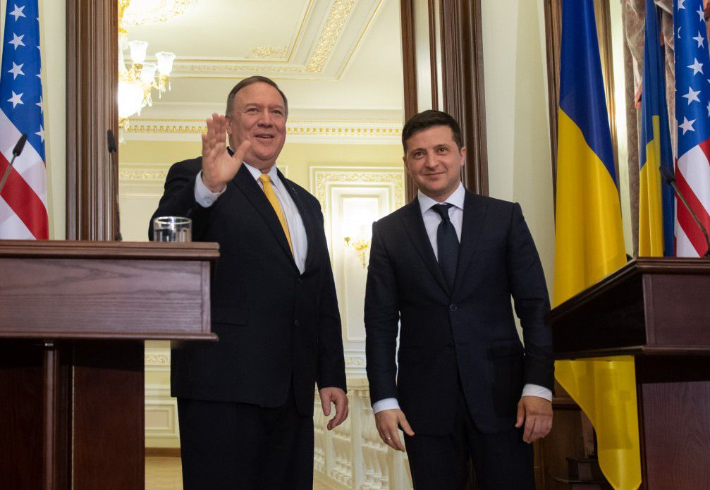 The United States pledges unfailing support of Ukraine