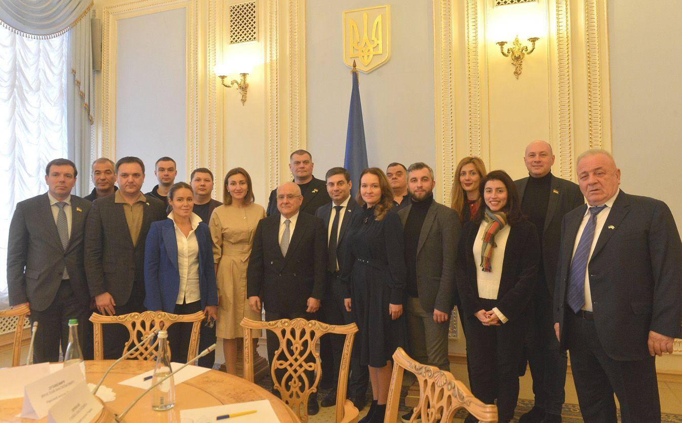 Відбулося організаційне засідання депутатської групи з міжпарламентських зв'язків з Грецією