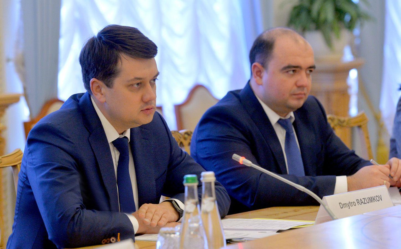 Dmytro Razumkov: 'Se mantendrá la tendencia positiva en las relaciones con Canadá'
