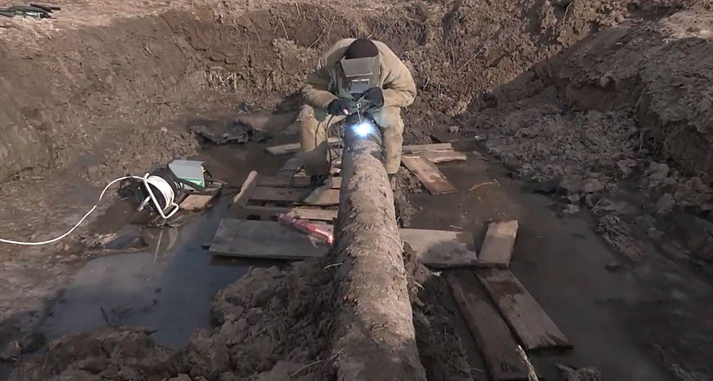 В урочищі Салотопка трактор порвав газову трубу