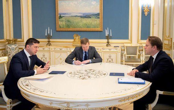 Ucrania y la UE acordaron prioridades para el año en curso